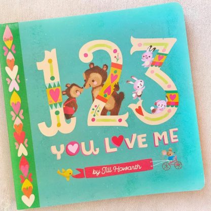 123 You Love Me board book